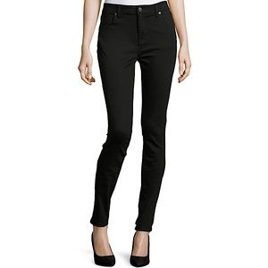❤️ Burberry Brit Low Rise Skinny Jeans in Black